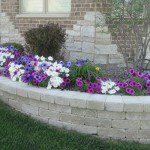 brick paver retaining wall glenview