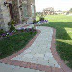 brick paver front entrance inverness