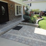 brick paver front entrance hoffman estates