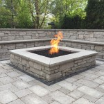 natural stone fire pit glenview