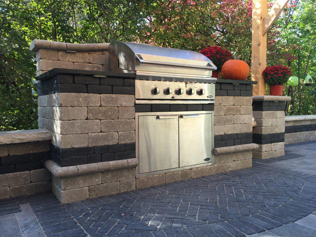Grill Enclosures Pavestone Brick Pavingpavestone Brick
